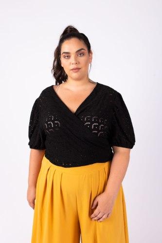 חולצת גרייס שחור
