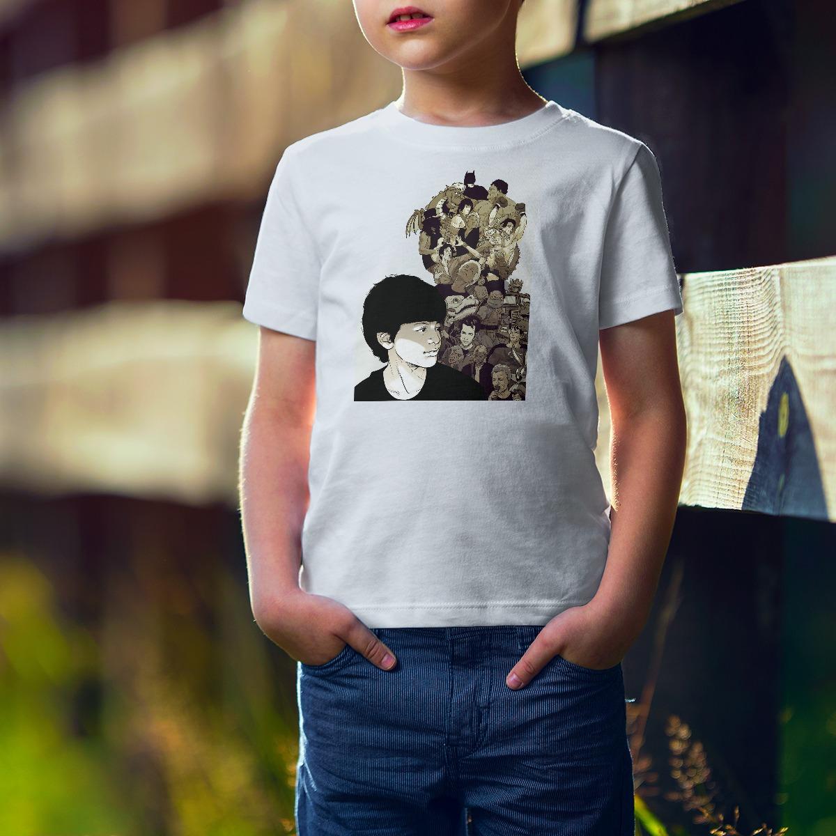"""חולצת """"כל מה שילד צריך"""" - ילדים וילדות"""