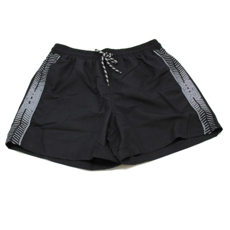 מכנס ים גבר משולב שחור