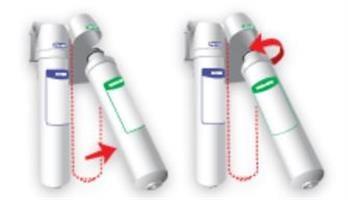 מערכת סינון מיקרופילטר 2 שלבים