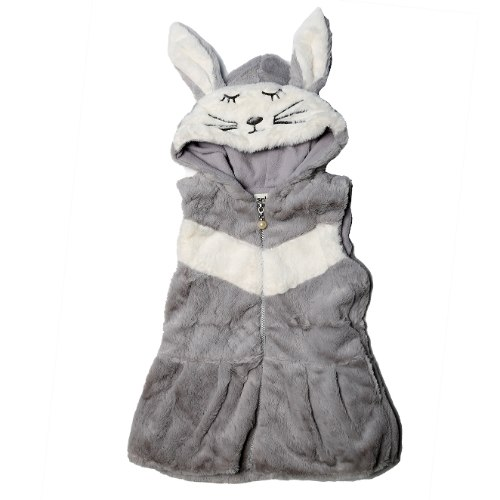 ווסט פרווה עם כובע ארנב