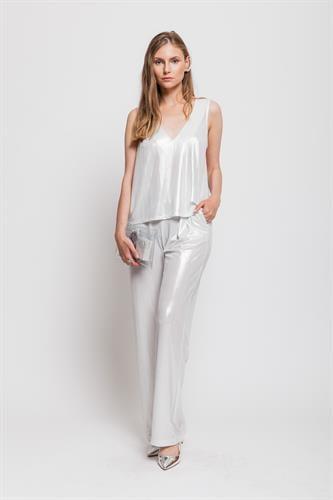 חליפה מרי גלאם לבן לורקס