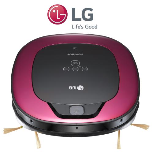 שואב רובוט HOM-BOT LG עם מנוע אינוורטר חכם דגם VR-6570LV