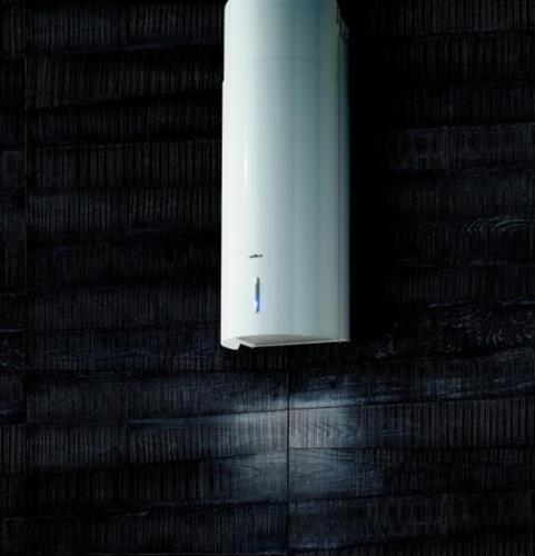 קולט צינור צמוד קיר לבן ELICA דגם-STONE-WH