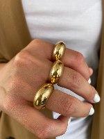 טבעת סופיה זהב