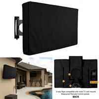 כיסוי מסך טלוויזיה חיצוני להגנה מפני אבק מים וחרקים מתאים לכל סוגי המסכים וכל סוגי מתקני התלייה