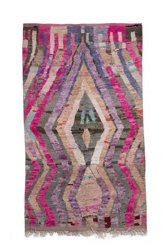 שטיח ברברי צבעוני