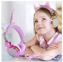 אוזניות לילדים - חד קרן