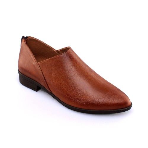 נעל עור פררה - כאמל