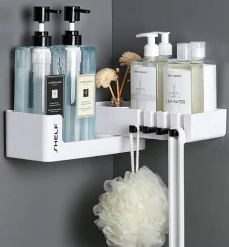 מדף נפתח לתלייה במקלחת / מתאים גם לתלייה במטבח