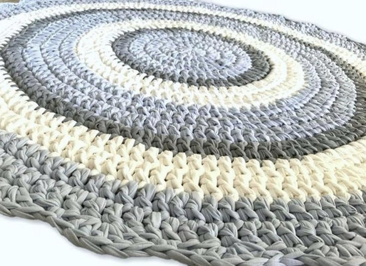 שטיח סרוג, שטיחים סרוגים, שטיח עגול, שטיחים, שטיח לחדר ילדים, שטיח לחדר של תינוק, מתנה לברית, שטיח בצבעים בהירים