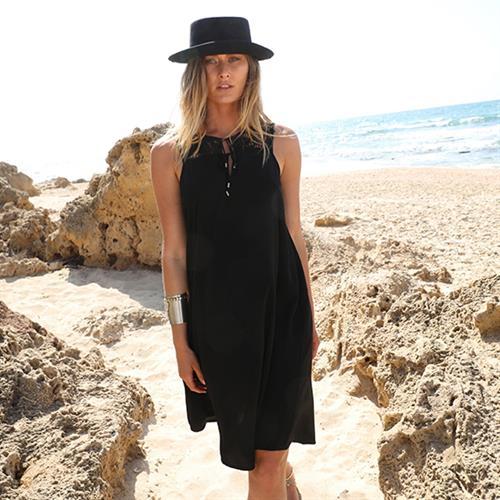 שמלת ג'ואני שחורה