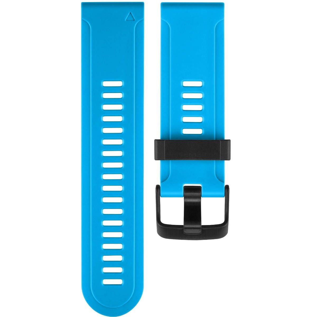 רצועה סיליקון כחולה מקורית לשעון Garmin Fenix 3