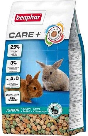 """כופתיות מזון *לגורי* ארנבים קייר+ ביהפר 1.5 ק""""ג"""