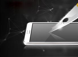 טיפות אוניברסליות להגנת מסך בשיטת Nano Liquid Technology