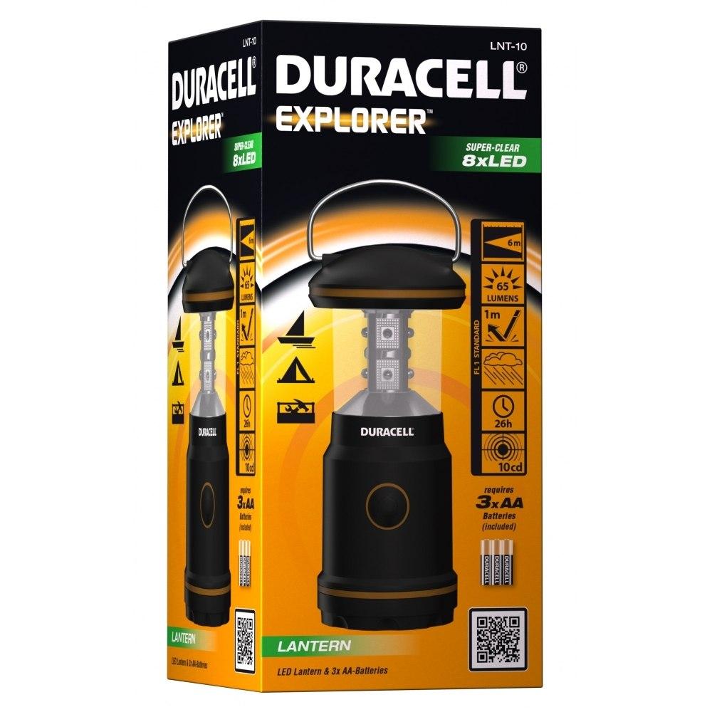 עששית DURACELL EXPLORER LNT-10