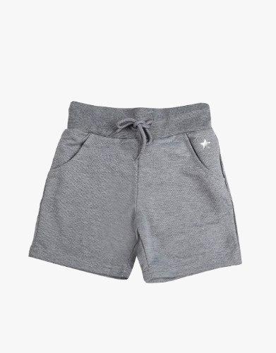 מכנס קצר לבנת עם כיסים