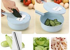 סט מנדולינה לחיתוך ירקות מקצועי ומהיר - הטוב בעולם!