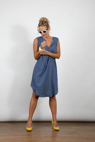 שמלת מיילי כחולה