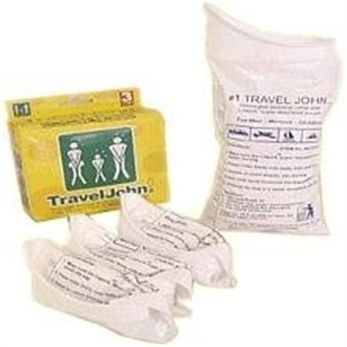 שקיות שתן לשימוש מתמשך TravelJohn