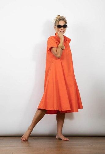 שמלת מארי כתומה