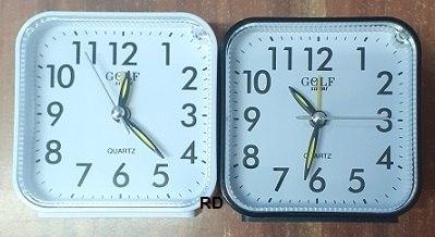 """שעון מעורר GOLF 6602 גולף 8*8 ס""""מ נודניק"""