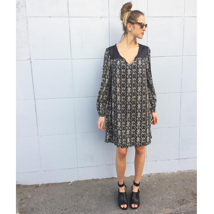 שמלת שריי אוריינטאלי