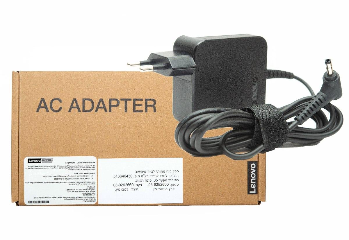 מטען למחשב נייד לנובו Lenovo 20V-3.25A 4.0*1.7 65W