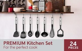 24 כלי מטבח איכותיים