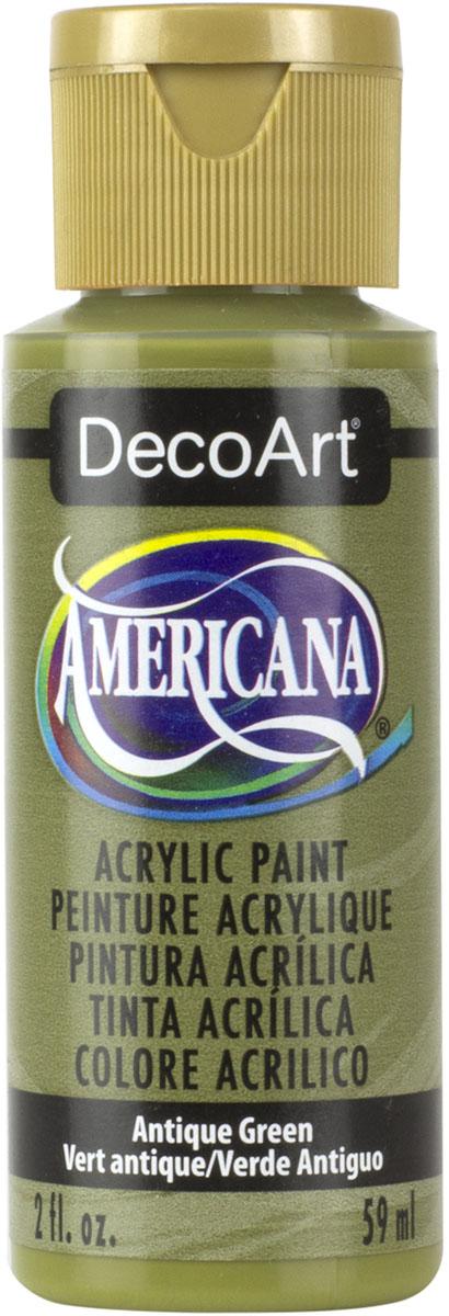 """צבע אמריקנה 59 מ""""ל Antique Green DA147"""
