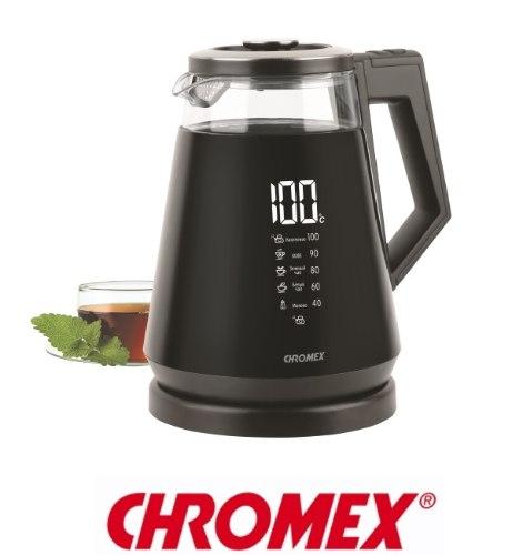 CHROMEX קומקום חשמלי נשלף עם צג דיגיטלי דגם CH770