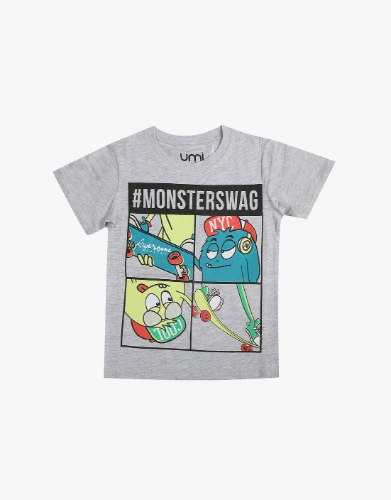 חולצה בנים MONSTERSWAG