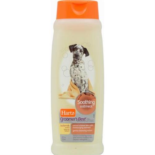 """שמפו לעור רגיש לכלבים 532 מ""""ל (hartz)"""