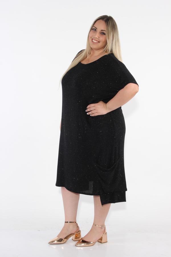 שמלת קארה ערב שחור