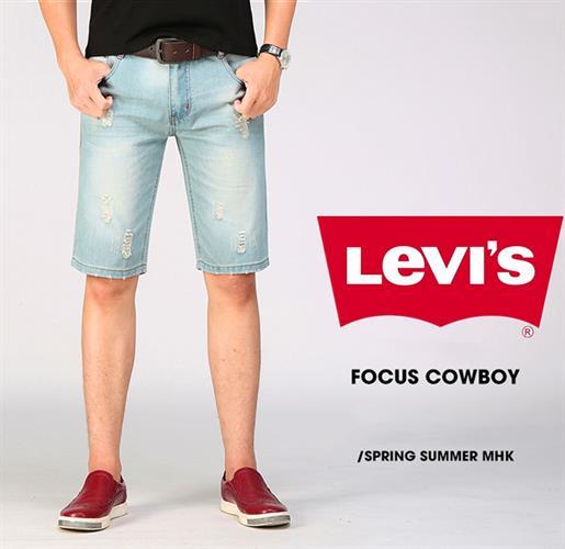 ג'ינס לוויס קצר לגבר