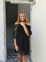 שמלת גיפיור - שחור