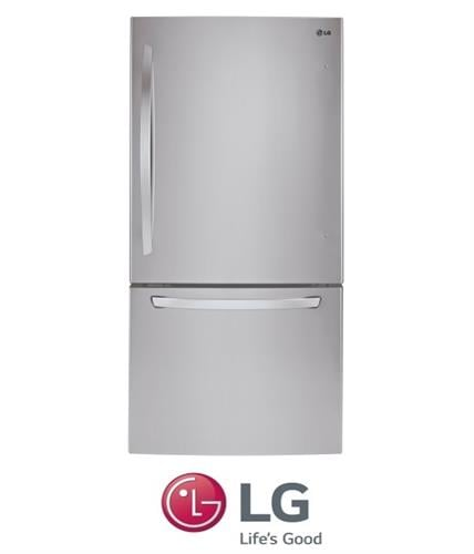 LG מקרר מקפיא תחתון 681 ליטר דגם: GM-849RSC נירוסטה