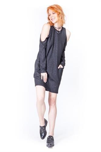 שמלת פוקסי שחורה