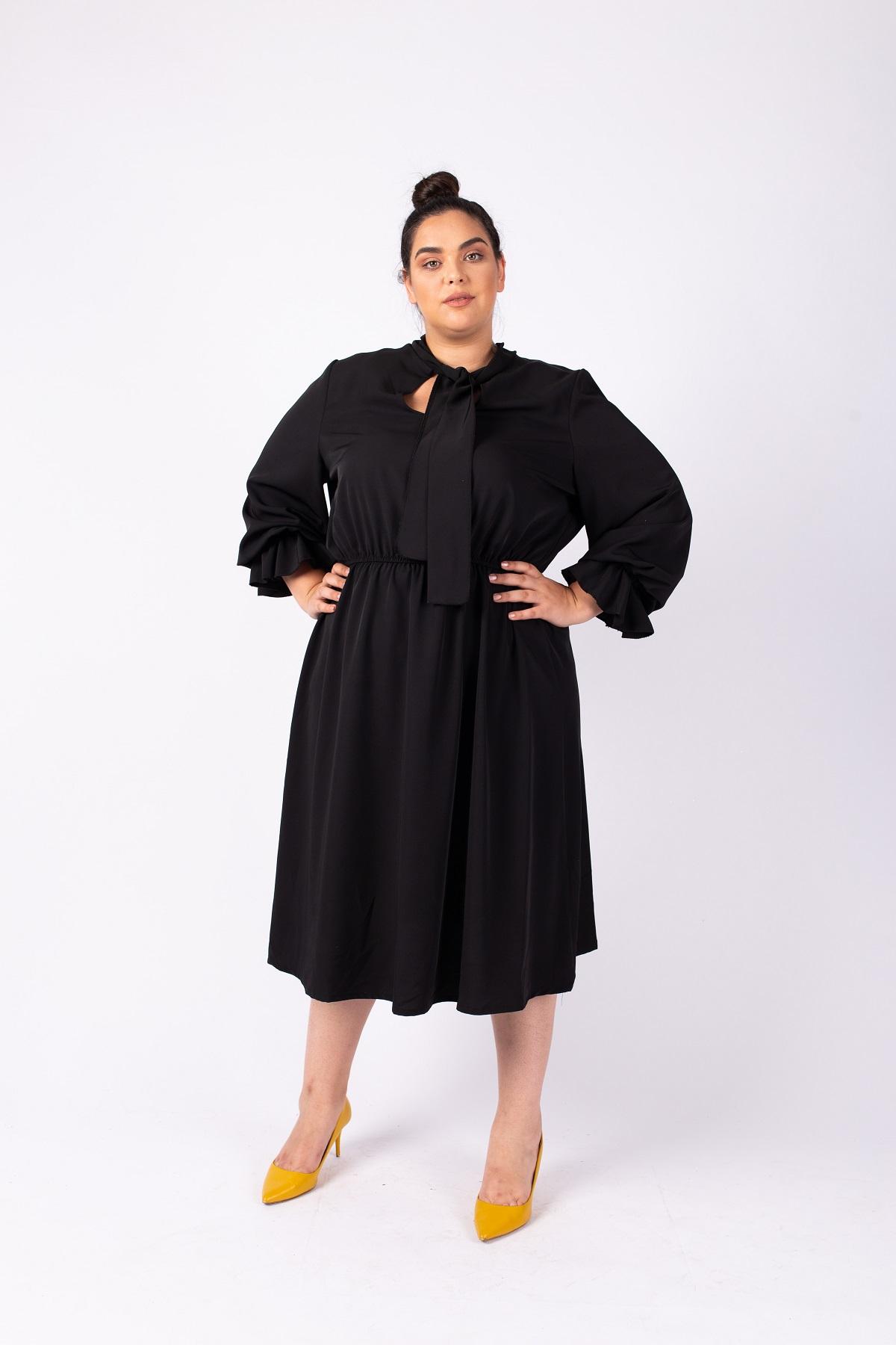 שמלת גאיה שחורה