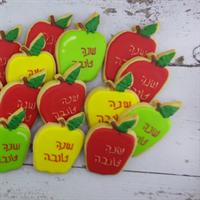 עוגיות תפוחים לראש השנה