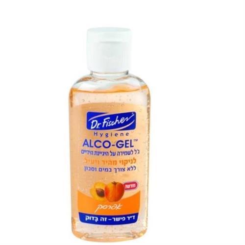 אלכוג'ל גל בניחוח אפרסק לשמירת היגיינת הידיים 70% אלכוהול  100 מל