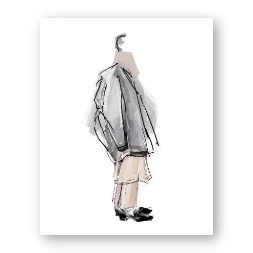 איור אופנה #29
