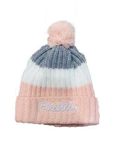 כובע גרב ורוד FILA - בנות