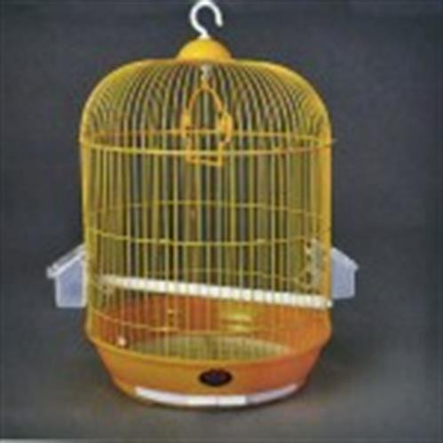 """כלוב לתוכי עגול בצבע זהב 33 ס""""מ"""