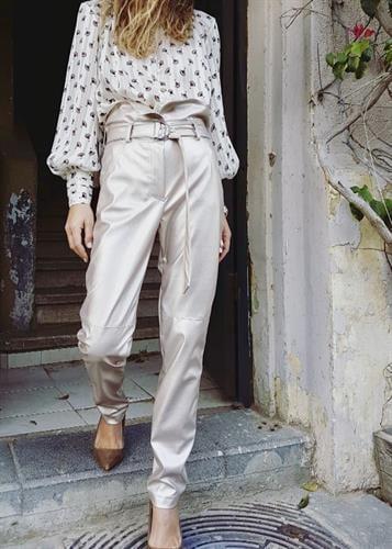 מכנסיים ברדלי זהב