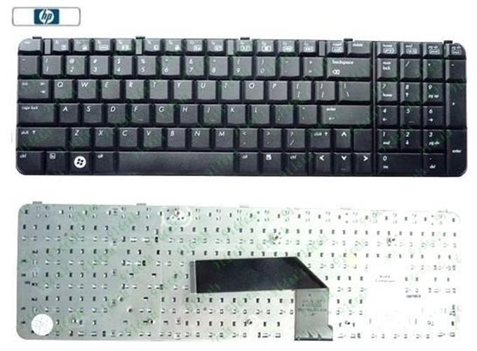 החלפת מקלדת למחשב נייד HP Pavilion HDX9000  / HDX9400 442101-001 Keyboard black