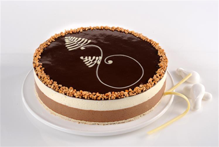 עוגת מוס מוצרט גדולה