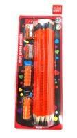 מארז 12 עפרונות כתיבה ו-2 מחדדים