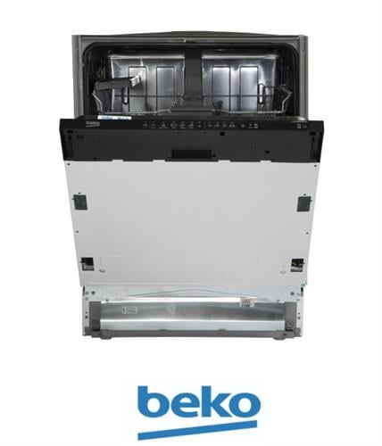 beko מדיח כלים רחב אינטגראלי מלא דגם DIN-26410