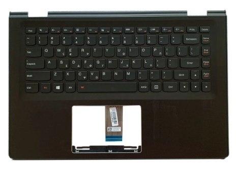 החלפת מקלדת למחשב לנובו כולל תושבת עליונה Lenovo yoga 500-14IBD plamrest with HB keyboard